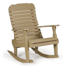 Amish Poly Single Easy Rocker