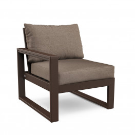 POLYWOOD® EDGE Modular Left Arm Chair