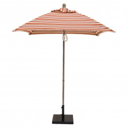 6 1/2 ft Square Umbrellas Pulley with Pin & Chain