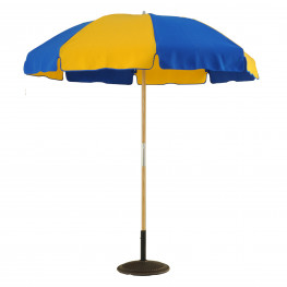 7 1/2 ft Wooden Beach Pop-Up with button