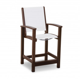 POLYWOOD® Coastal Counter Chair