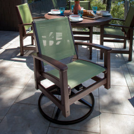 POLYWOOD® Coastal Swivel Rocker
