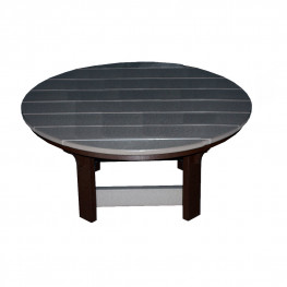 Amish Poly 42in Round Coffee Table