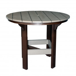 Amish Poly 42in Round Dining Table