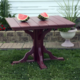 Amish Poly 39in Square Dining Table