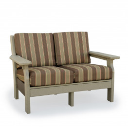 Amish Poly Wood Van Buren Love Seat