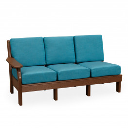Amish Poly Van Buren Left Sofa Section