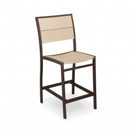 POLYWOOD® Metro™ Counter Side Chair