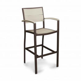 POLYWOOD® Metro™ Bar Side Chair