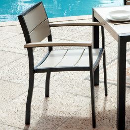POLYWOOD® Metro™ Dining Arm Chair