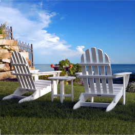 POLYWOOD Classic Folding Adirondack Chair
