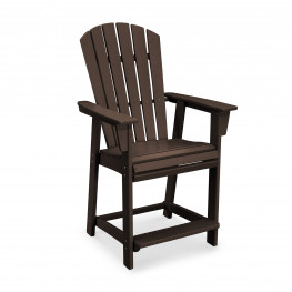 POLYWOOD® Nautical Adirondack Counter Chair