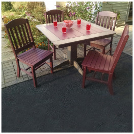 A&L Furniture Classic Dining Set