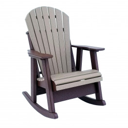 Amish Poly Comfy-Back Rocker