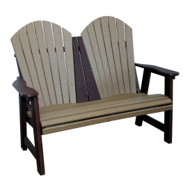 Amish Poly Comfy Garden Bench
