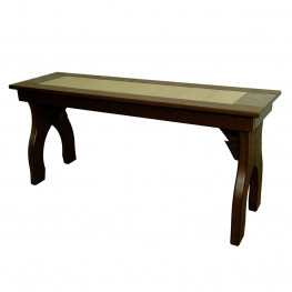 Amish Poly Counter Height 44in Backless Bench