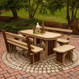 Finch Mission Garden 5 Pc Dining Set