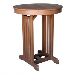"""Amish Poly 33"""" Round Pub Table"""