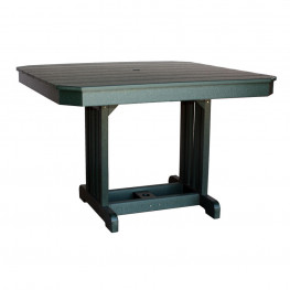 """Amish Poly 44"""" Square Table"""