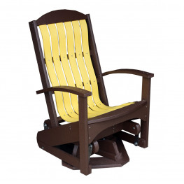 Amish Poly Wood Beach Cruiser Swivel Glider