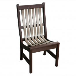 Amish Poly Wood Dining Chair