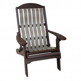 Amish Poly Wood Folding Chair