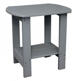 Amish Poly Oval End Table