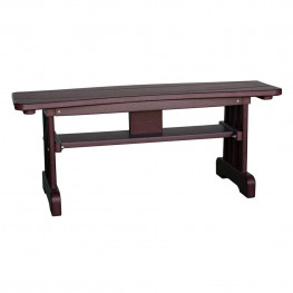 Amish Poly Table Bench