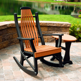 Amish Poly Woodland Rocker