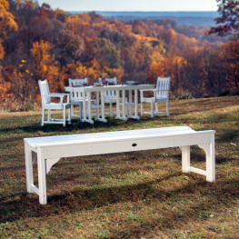 POLYWOOD® Traditional Garden 60in Backless Bench