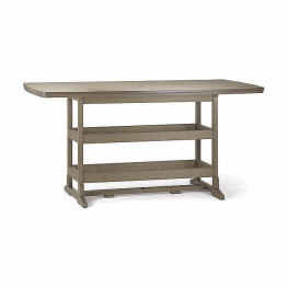 Breezesta™ 42 x 84 Inch Rectangular Bar Table