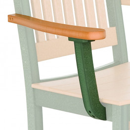 Berlin Gardens Mission Chair Arms