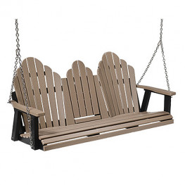Berlin Gardens Cozi-Back 5 ft Swing with Console