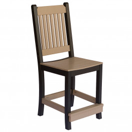 Berlin Gardens Mission Counter Chair