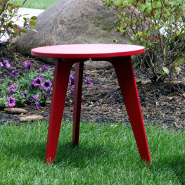 Berlin Gardens Nordic Round End Table