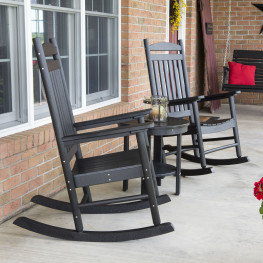 Berlin Gardens Porch Rocker 3pc Set