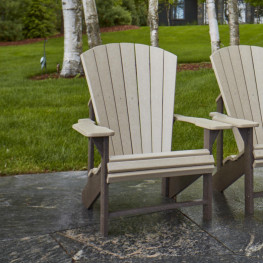 CR Plastics Generations Classic Adirondack Chair