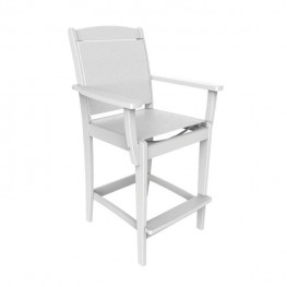 Malibu Outdoor Maywood Sling Bar Arm Chair (Sold in pairs)