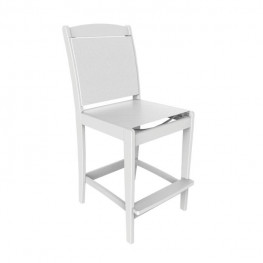 Malibu Outdoor Maywood Sling Bar Side Chair (Sold in pairs)