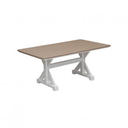 Casual Comfort Poly Lumber 40in x 60in Table