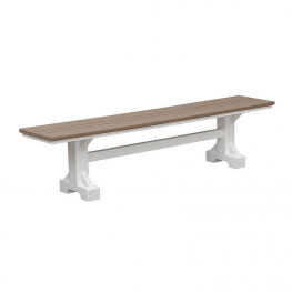 Casual Comfort Poly Lumber 7' Bench