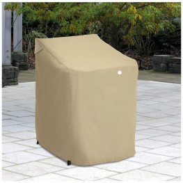 Classic Accessories Terrazzo Patio Stackable Chair Cover