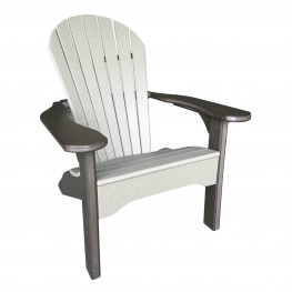 Amish Poly Comfy Adirondack Chair
