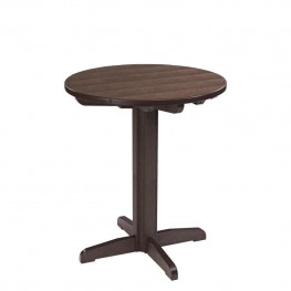 CR Plastics Generations  Dining 37in Pedestal Table Base