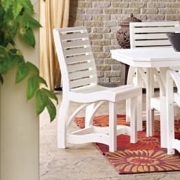 CR Plastics St Tropez Dining Side Chair