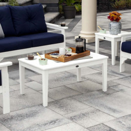 "POLYWOOD® Newport 22"" x 36"" Coffee Table"