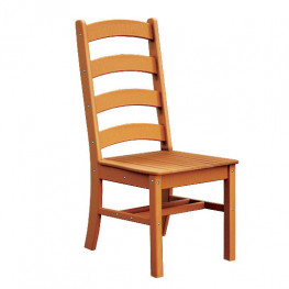 Ladderback Poly Dining Side Chair