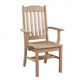 Sunnyside Poly Dining Arm Chair