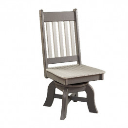 Conestoga Poly Swivel Dining Side Chair