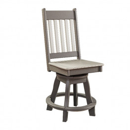 Conestoga Poly Swivel Balcony Side Chair